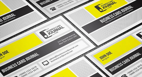 Creative & Unique Metro Style Business Card Template