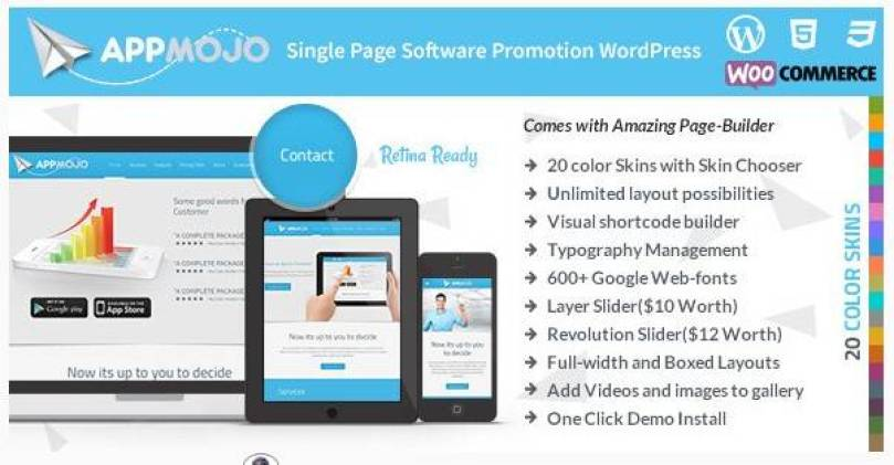 App Mojo wordpress theme