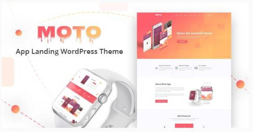 Moto wordpress theme