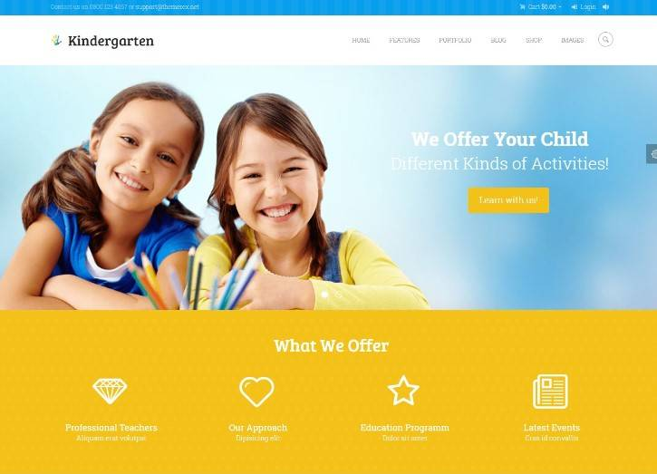 Kindergarten | Children WordPress Theme