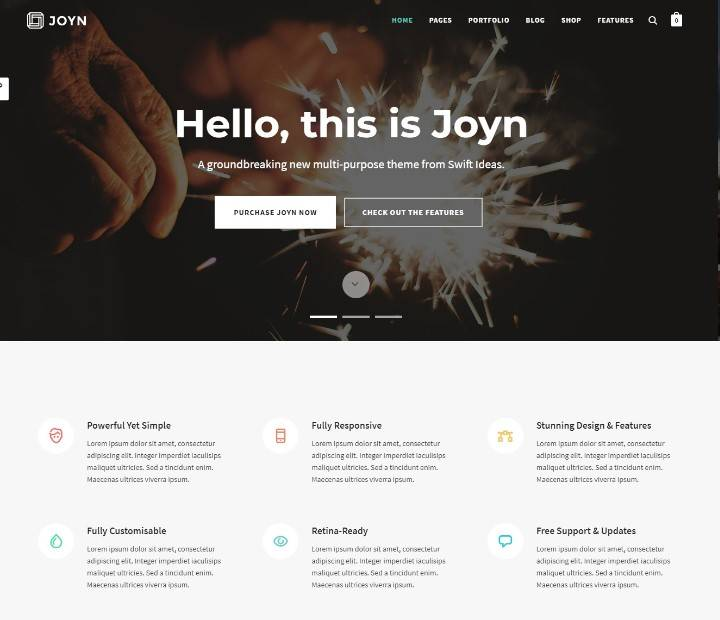 JOYN - Creative Multi-Purpose Theme