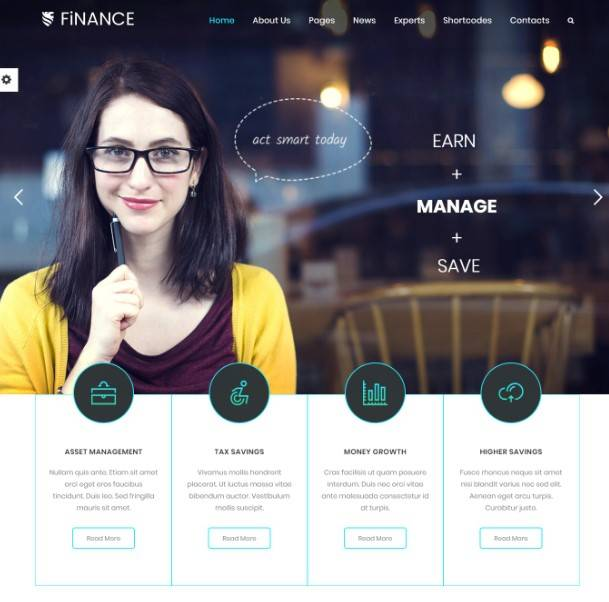 Finance | Consultant, Finance Business Theme