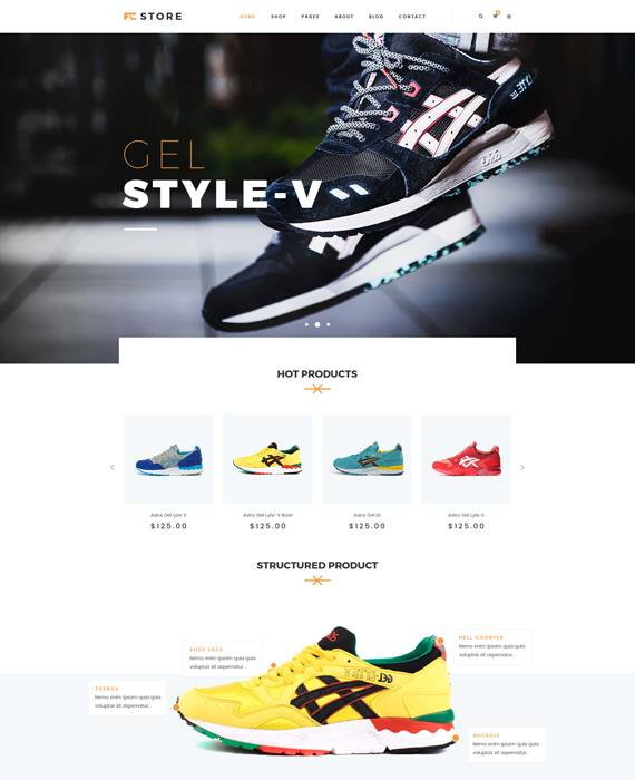 Sports, Fitness and Gym WooCommerce WordPress Theme