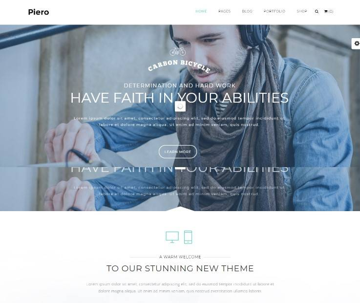 PIERO | Clean, Modern, Multi-Use WordPress Theme