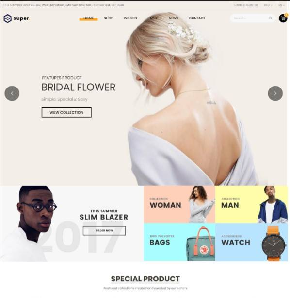 Xuper - Fashion WooCommerce WordPress