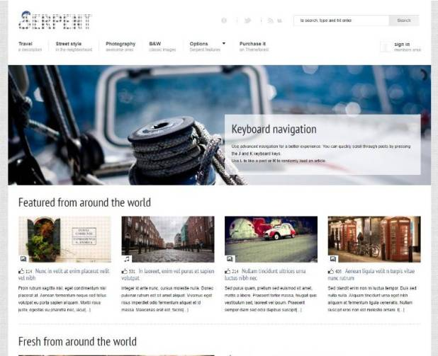 Serpent - Responsive Social Network wordpress Theme