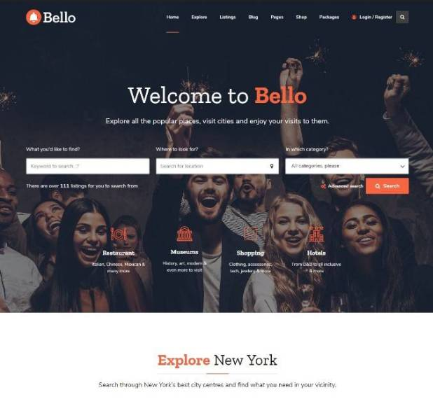 Bello - Directory & Listings
