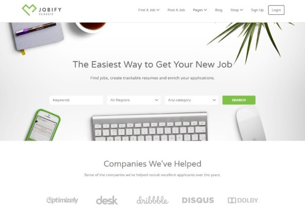 Jobify - The Most Popular WordPress Job Board Theme