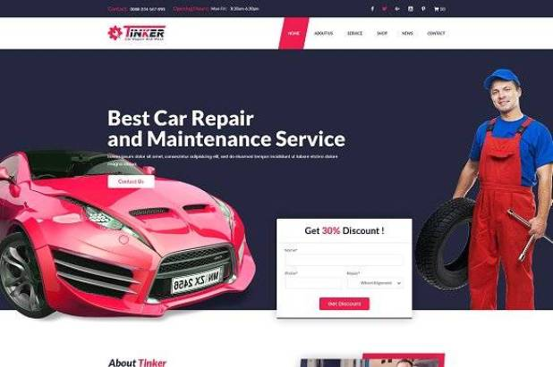 Tinker wordpress theme