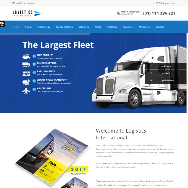 Logistics - Transport, Logistics Theme