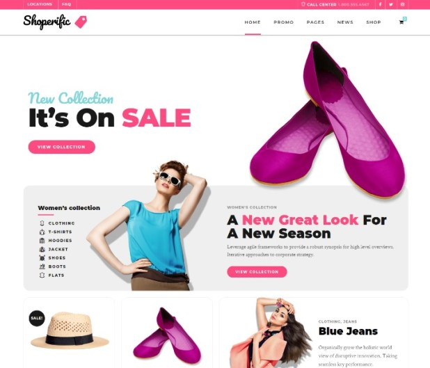 Shoperific - Flexible WooCommerce Shop