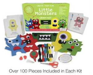 CraftLab Little Monsters Beginners Sewing Craft Kit