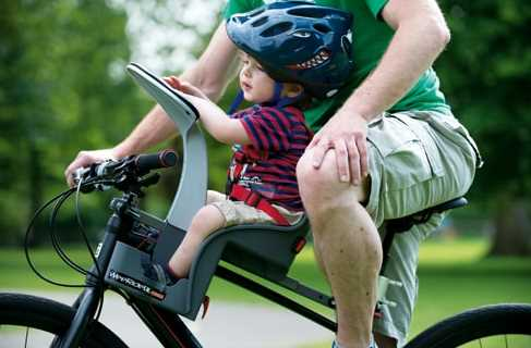 Bicycle Children Seat,Large Deluxe Bicycle Mounted Child Carrier//Bike Seat for Children,Toddlers,and Kids