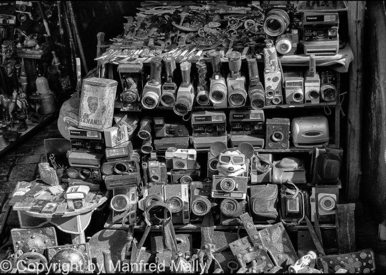 Foto Flohmarkt Marakesch Maroko