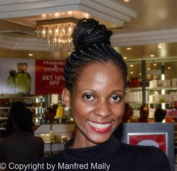 Lächelnde Frau St Lucia;Karibik