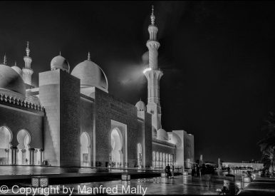 Weiße Moschee VAE