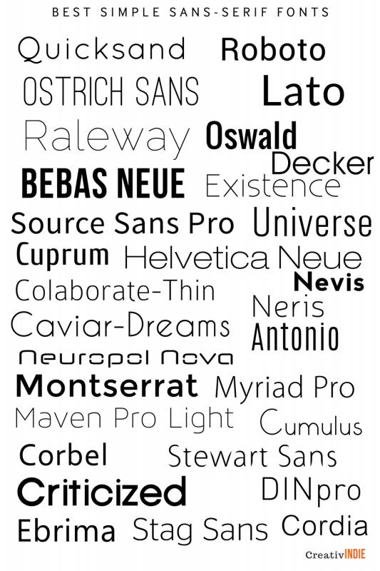 300 Fool Proof Fonts To Use For Your Book Cover Design An Epic List Of Best Fonts Per Genre