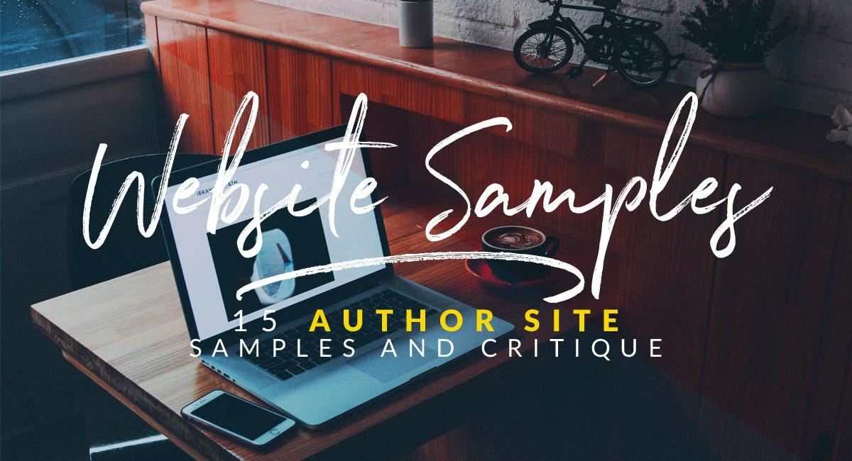 15 author website examples