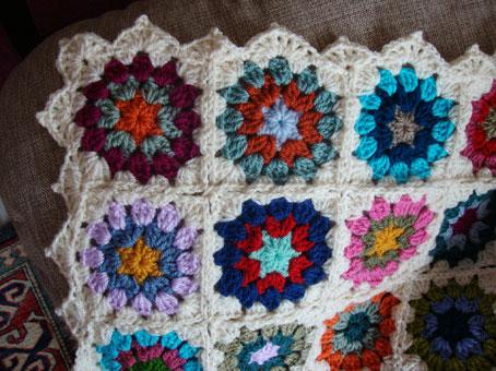 Come fare coperta con mattonelle a uncinetto