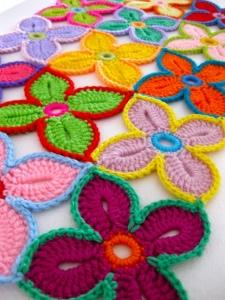 Come fare gli hawaiian flower a uncinetto crochet fiori