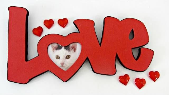 Porta foto per San Valentino il tutorial per farlo  Creativit Organizzata
