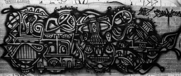 Urban Art Black Silver Free Backgrounds And Textures