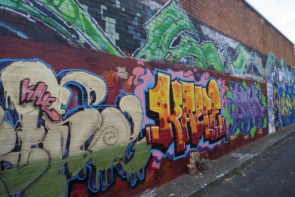 Graffiti Urban Street Scenes
