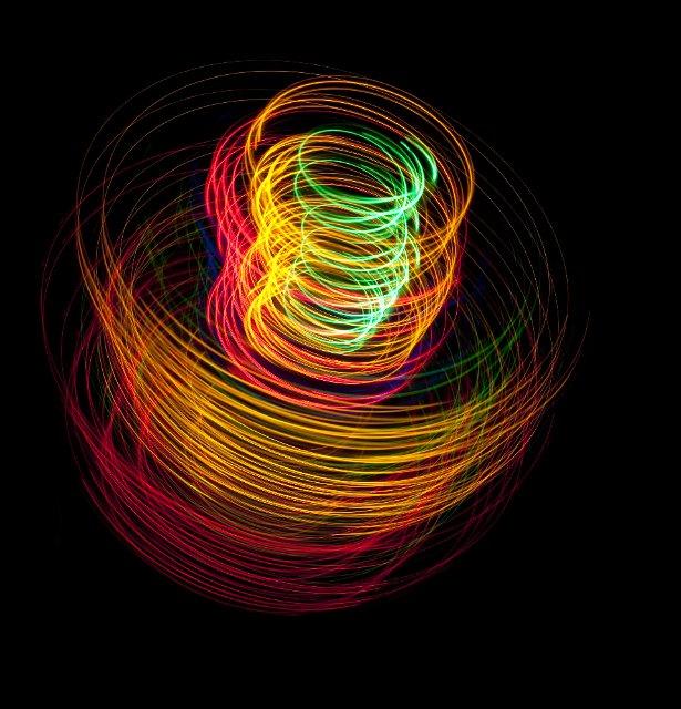 coil of light