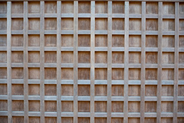 Ornamental Wooden Grid Or Trellis Free Backgrounds And