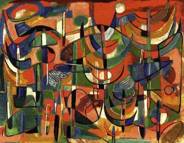 """1. Sturtevant, """"Warhol Flowers,"""" 1964-71"""