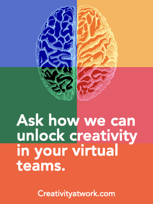 Ask how we can unlock creativity in your virtual teams.