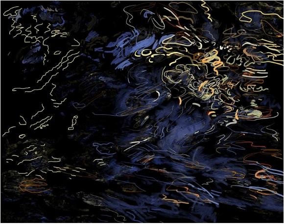 Ripples Study 1 Art © Linda Naiman 2018
