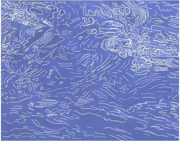 Ripples Study 6 Art © Linda Naiman 2018