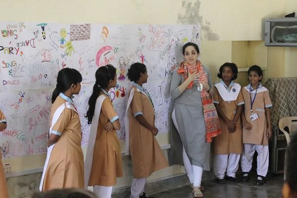 Creative Partnership Huf School Lahore - Creativity