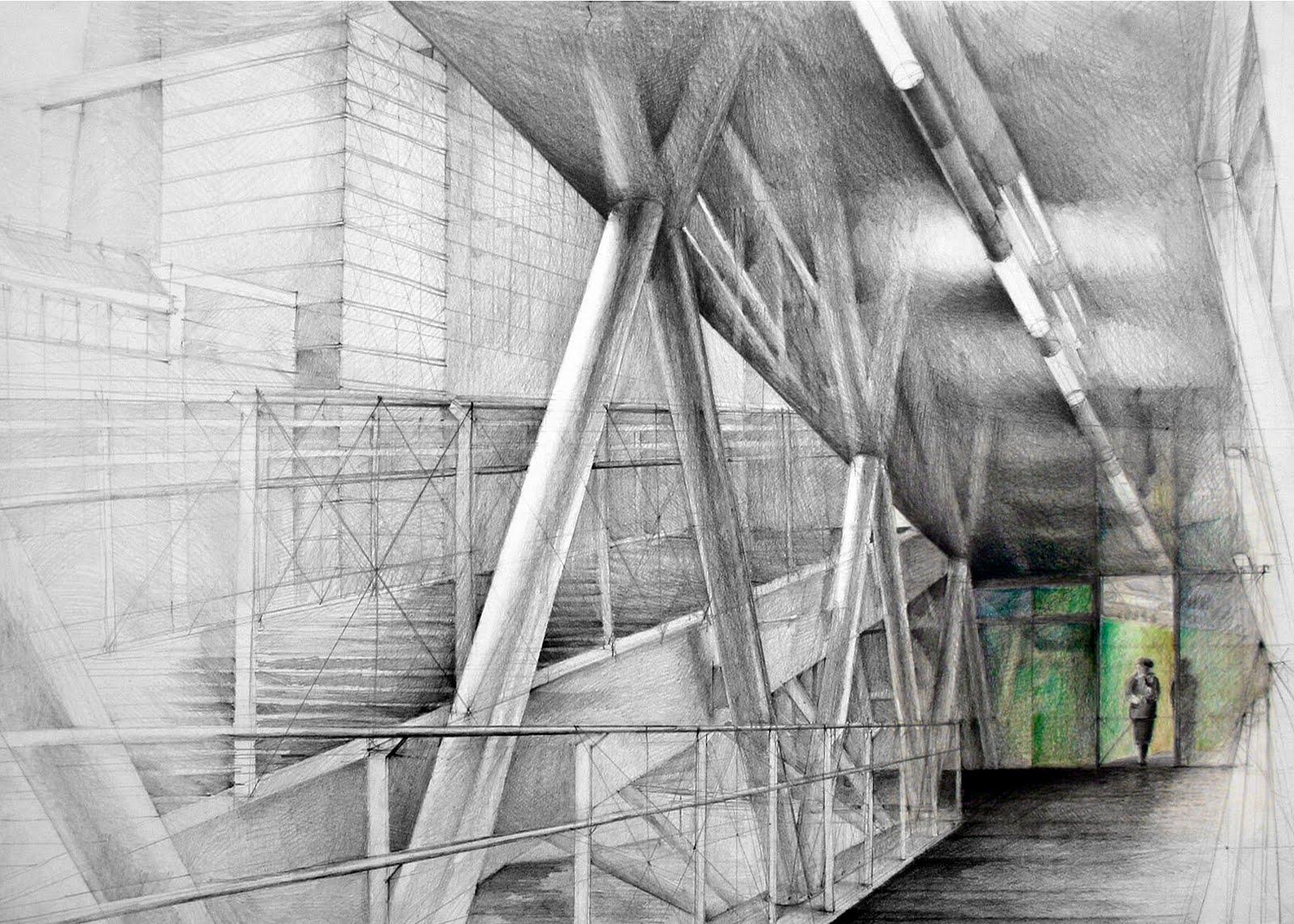 architectural drawings by klara