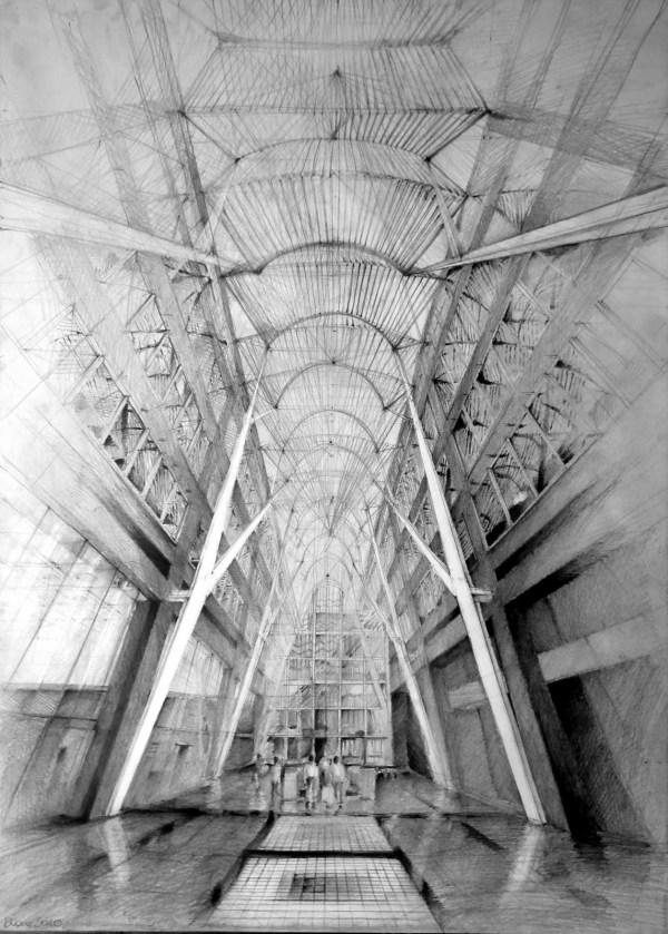 Santiago Calatrava Architecture Drawings