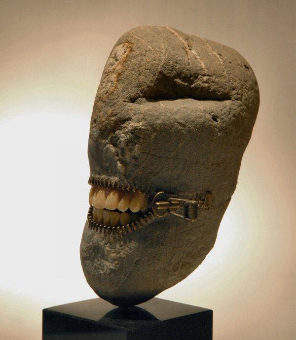 Profile Stone Sculpture Jiyuseki Hirotoshi Itoh