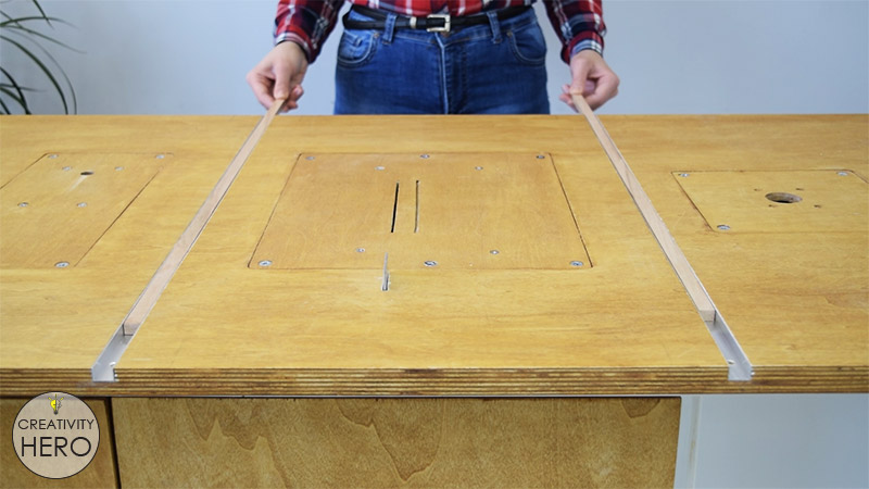 Table Saw Crosscut Guide