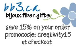 15% off your entire order at bb3.ca