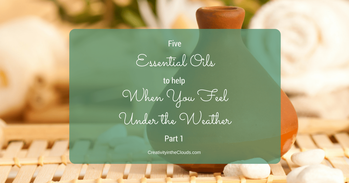 5 Essential Oils to Help When You Feel Under the Weather: Part 1 (Easier Breathing)