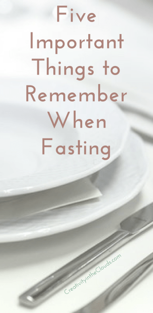 5 Important things to Remember When Fasting