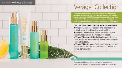 doTERRA Verage Collection:  SLS-Free