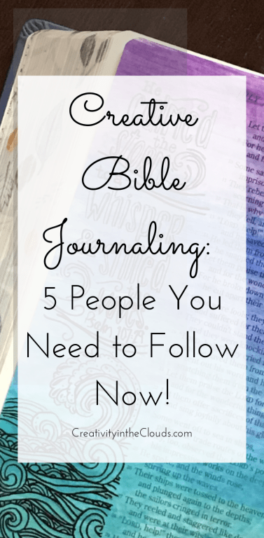 Creative Bible Journaling: 5 People You Need to Follow Now!