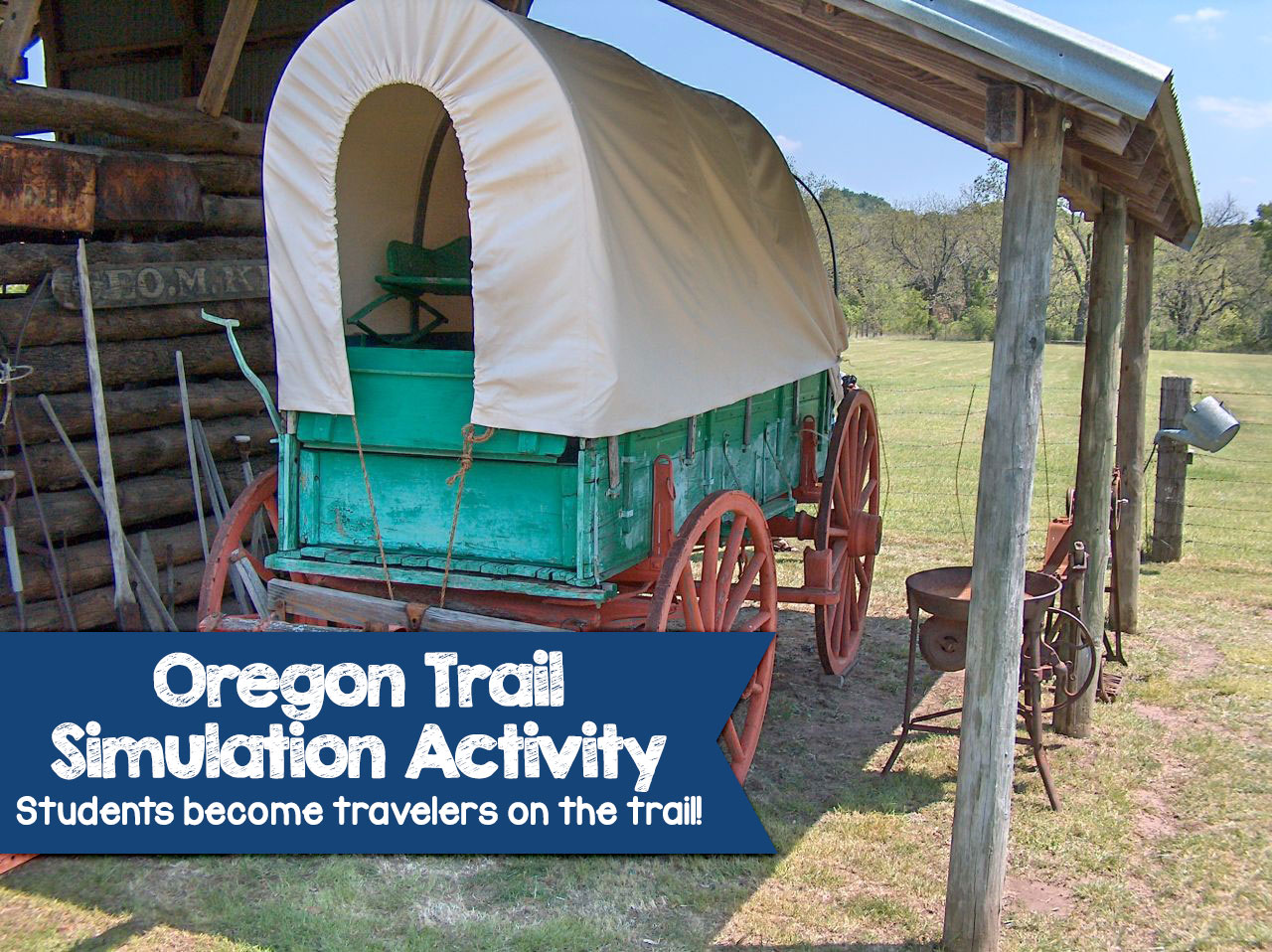 In This Oregon Trail Simulation Activity Students Begin