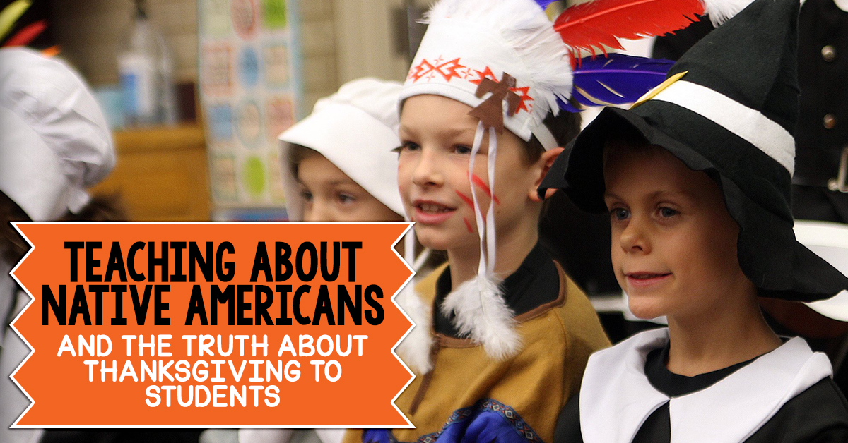 It's easy to get trapped in the misconceptions surrounding Thanksgiving and Native Americans! Here's some invaluable tips for covering the truth of both topics in the upper elementary classroom.