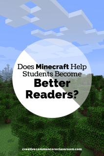 Does Minecraft help students become better readers? Check out this blog post on how Minecraft books and magazines can help students in reading.