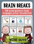 Brain Breaks Activity Cards are a great way to engage your students.