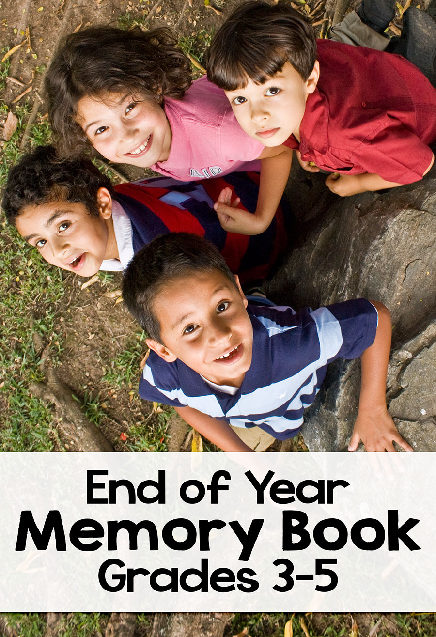 Here is a great end of the year memory book for your students to complete as the year winds down. This is appropriate for elementary students in grades 3, 4, and 5. It is 11 pages of fun topics for your students to complete! This is a great resource to have your students complete and then bind into a booklet for them to keep! Let their memories of your classroom last a lifetime!
