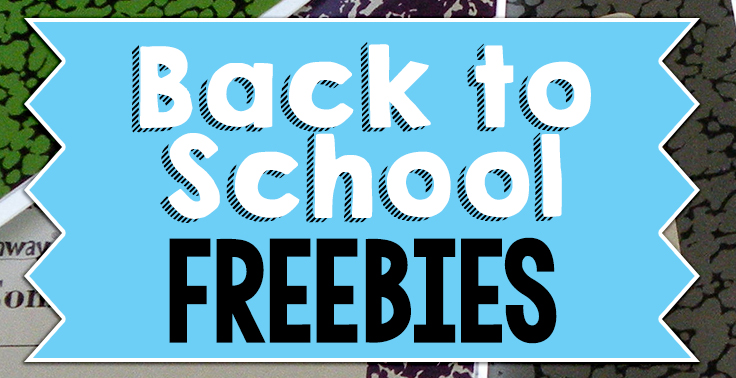 We are getting ready to head back to school, and wanted to share with all of you some great FREE resources that we use in our classrooms. Below are our Top 5 Back to School Freebies!