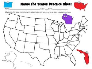 It is important to teach the United States capitals and states.